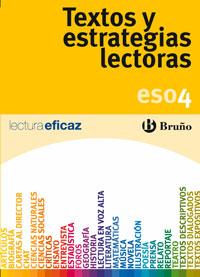 TEXTOS Y ESTRATEGIAS LECTORAS, 4 ESO. CUADERNO