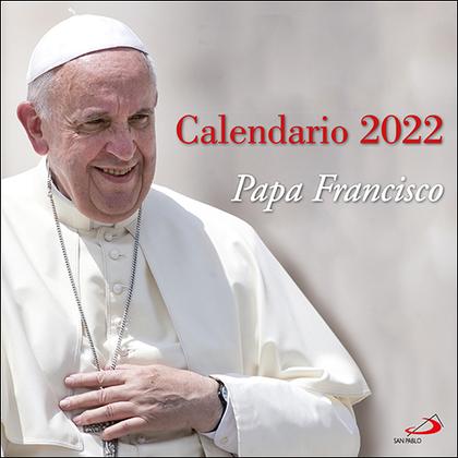 CALENDARIO DE PARED PAPA FRANCISCO 2022.
