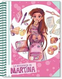 LIBRETA DE LA DIVERSIÓN DE MARTINA (ROSA) (LA DIVERSIÓN DE MARTINA).