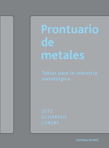 PRONTUARIO DE METALES