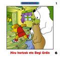 HIRU HARTZAK ETA BEGI URDIN