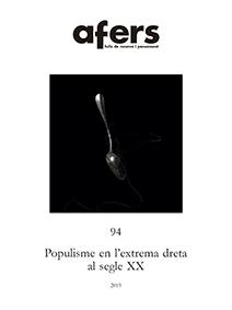 POPULISME EN L´EXTREMA DRETA AL SEGLE XX