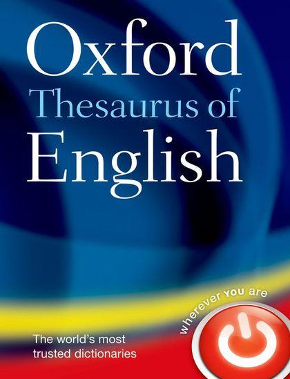 OXF THEASURUS ENGLSIH 3E C.