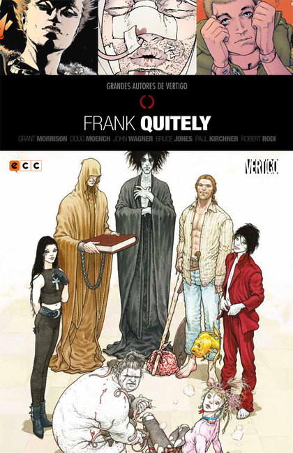 GRANDES AUTORES DE VERTIGO: FRANK QUITELY