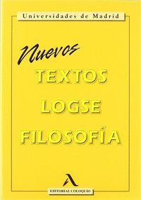 TEXTOS FILOSOFÍA, LOGSE