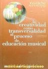 LA CREATIVIDAD COMO TRANSVERSALIDAD AL PROCESO DE EDUCACIÓN MUSICAL