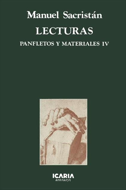 PANFLETOS Y MATERIALES. T.4. LECTURAS