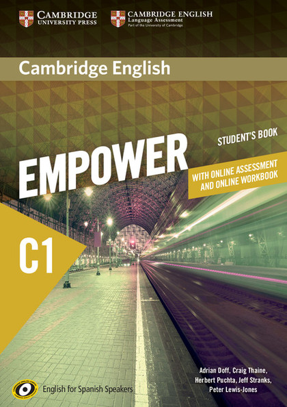 CAMBRIDGE ENGLISH EMPOWER FOR SPANISH SPEAKERS C1 STUDENT´S BOOK WITH ONLINE ASS.