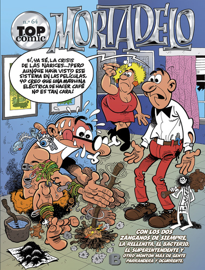TOP COMIC MORTADELO 64 (LIB)