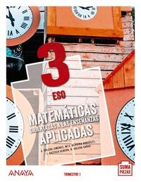 MATEMÁTICAS ORIENTADAS A LAS ENSEÑANZAS APLICADAS 3..