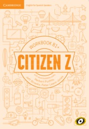 CITIZEN Z B1+ WORKBOOK WITH DOWNLOADABLE AUDIO.