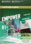 CAMBRIDGE ENGLISH EMPOWER FOR SPANISH SPEAKERS B1 : STUDENT´S BOOK