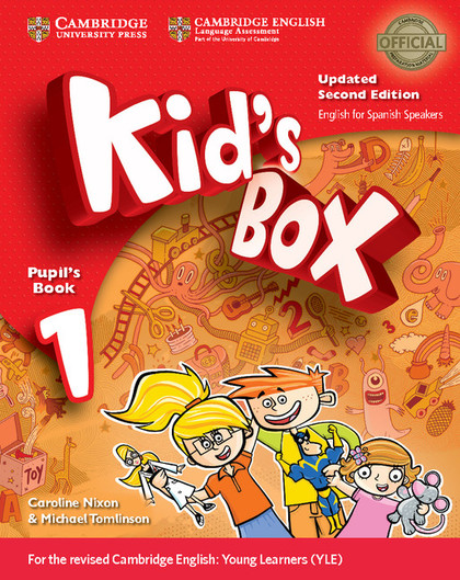KID´S BOX LEVEL 1 PUPIL´S BOOK WITH MY HOME BOOKLET UPDATED ENGLISH FOR SPANISH.