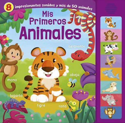MIS PRIMEROS ANIMALES- LIBRO SONORO