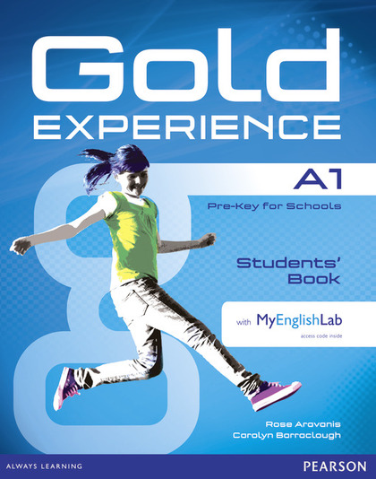 GOLD EXPERIENCE A1 STUDENTS´ BOOK WITH DVDROM AND MYENGLISHLAB