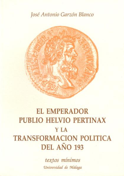 TEXTOS MINIMOS N.4 EMPERADOR PUBLIO HELVIO PERTINAX