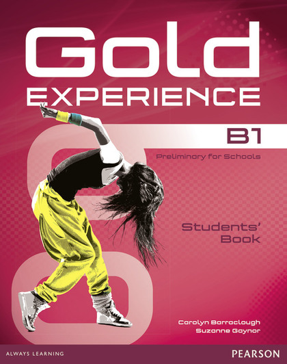 GOLD EXPERIENCE B1 STUDENTS´ BOOK AND DVD-ROM PACK.