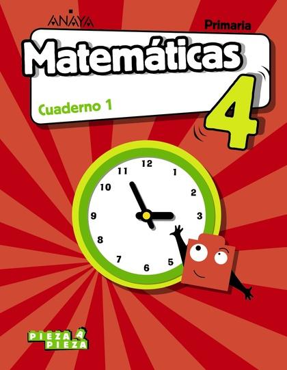 MATEMÁTICAS 4. CUADERNO 1..
