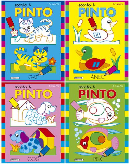 ESCRIC I PINTO 3-5 ANYS (4 TÍTOLS).