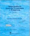MATEMÁTICAS PARA LA ECONOMÍA Y EMPRESA: VOLUMEN 3, CÁLCULO INTEGRAL, ECUACIONES.
