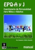 EPQ-A Y J. PROGRAMA PARA EL DESARROLLO DE LA CONCIENCIA FONOLÓGICA Y LA PREPARACIÓN A LA LE