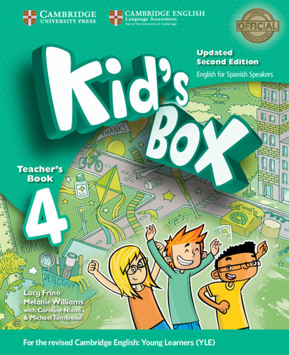 KID´S BOX LEVEL 4 TEACHER´S BOOK UPDATED ENGLISH FOR SPANISH SPEAKERS 2ND EDITIO.