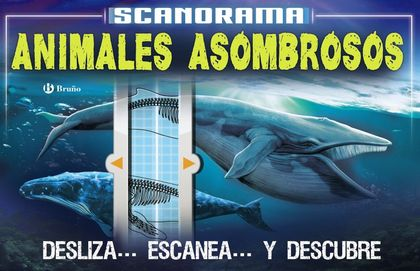 SCANORAMA. ANIMALES ASOMBROSOS.