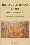 HISTORIA DE ESPAÑA: DOCUMENTOS