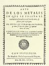 ARTE DE LOS METALES.