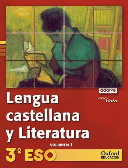 PROYECTO ADARVE, COTA, LENGUA Y LITERATURA, 3 ESO