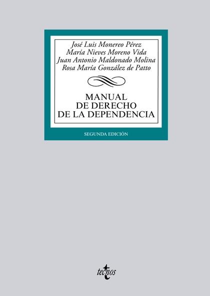MANUAL DE DERECHO DE LA DEPENDENCIA : ADAPTADO AL EEES
