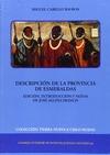 DESCRIPCIÓN DE LA PROVINCIA DE ESMERALDAS