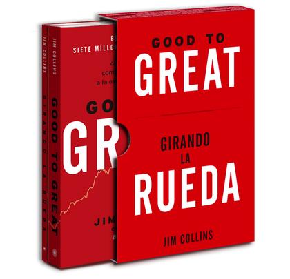 ESTUCHE GOOD TO GREAT + GIRANDO LA RUEDA.