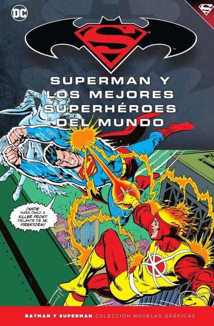 COLECCIÓN NOVELAS GRÁFICAS BATMAN Y SUPERMAN 43