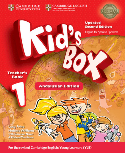 KID´S BOX LEVEL 1 TEACHER´S BOOK UPDATED ENGLISH FOR SPANISH SPEAKERS 2ND EDITIO.