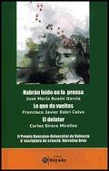 II PREMIS UNIVERSITAT-BANCAIXA D´ESCRIPTURA DE CREACIÓ: (NARRATIVA BREU)
