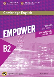 CAMBRIDGE ENGLISH EMPOWER FOR SPANISH SPEAKERS B2 WORKBOOK WITH ANSWERS, WITH DO.