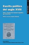 ESCRITS POLÍTICS DEL SEGLE XVIII. TOM V