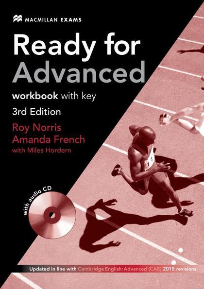 READY FOR ADVANCED (CAE) (3RD EDITION 2015 EXAM) WORKBOOK WITH KEY & WORKBOOK AU