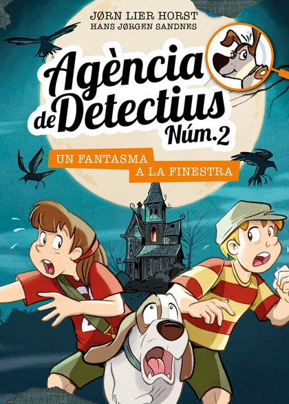 AGÈNCIA DE DETECTIUS NÚM. 2 - 10. UN FANTASMA A LA FINESTRA.