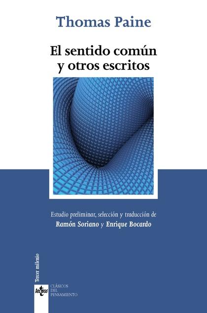 EL SENTIDO COMÚN Y OTROS ESCRITOS.