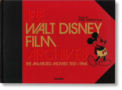 THE WALT DISNEY FILM ARCHIVES. THE ANIMATED MOVIES 1921-1968. INGLES. CON CUADER.