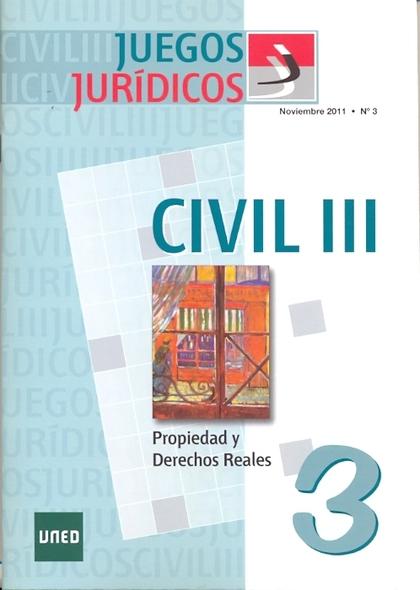 JUEGOS JURÍDICOS : DERECHO CIVIL III, Nº 3