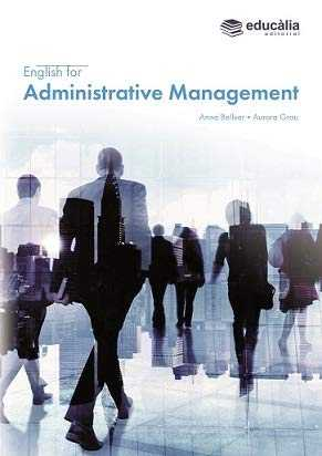 ENGLISH FOR ADMINISTRATIVE MANAGEMENT.