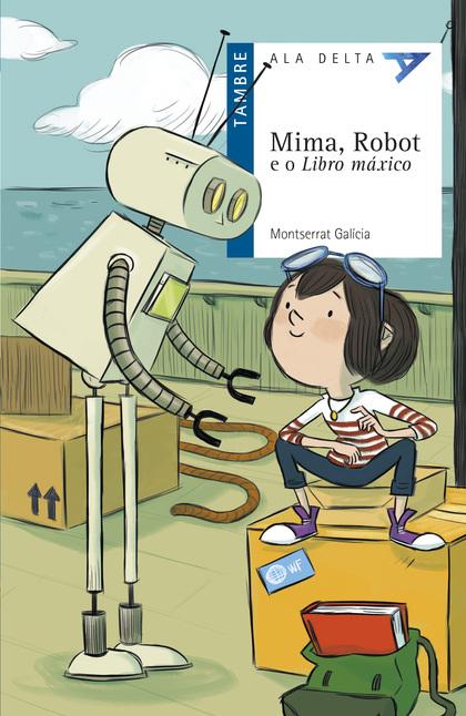 MIMA, ROBOT E O LIBRO MÁXICO.