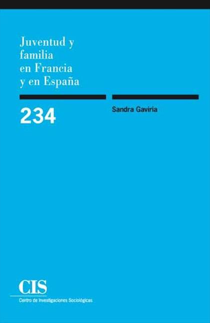 Juventud y familia en Francia y en España