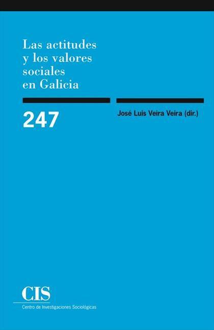Las actitudes y los valores sociales en Galicia