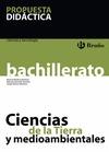 CIENCIAS DE LA TIERRA Y MEDIOAMBIENTALES, 2 BACHILLERATO. PROPUESTA DIDÁCTICA DEL PROFESOR