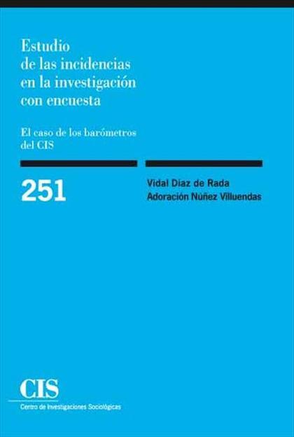 Estudio de las incidencias en la investigación con encuesta
