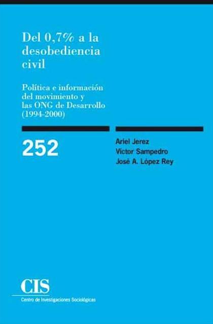 Del 0,7% a la desobediencia civil